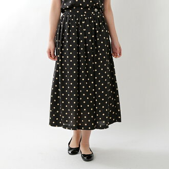 FRED PERRY (Fred Perry) polka dot skirt f8486-yn