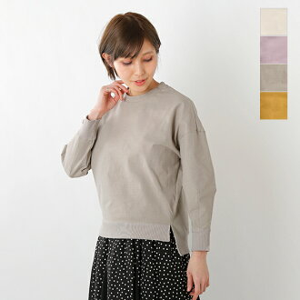 ESPEYRAC (エスペラック) high stretch cotton volume sleeve cut-and-sew pullover 7911002-yn