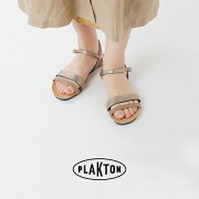 PLAKTON(プラクトン)aranciato別注レザーアンクルストラップサンダル575348-19ss