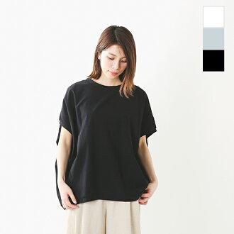 mizuiro-ind (ミズイロインド) cotton cocoon wide pullover 1-218325-yn