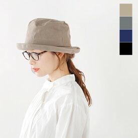 【2021aw新作】Chapeaugraphy(シャポーグラフィー)コットンウェザーソフトハット 076o-ms