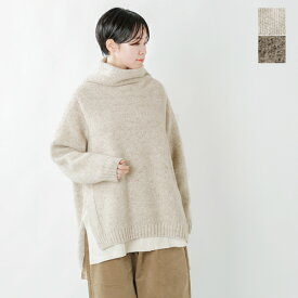 【2020aw新作】unfil(アンフィル)カシミヤネップオーバーサイズセーター wzfl-uw126-fn