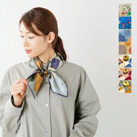【50%OFF】manipuri(マニプリ)シルクプリントスカーフ silkscarf-mm
