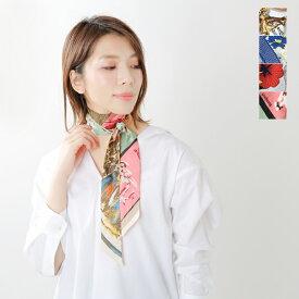【最大33倍】【60%OFF】manipuri(マニプリ)剣先細ロングシルクスカーフ printscarf-ms