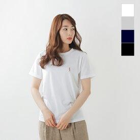 """【最大33倍】EEL(イール)コットンプリントTシャツ""""1234 2234"""" e-20524-hm"""
