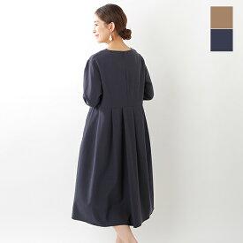 【最大42倍】【50%OFF】SONO(ソーノ)カルゼストレッチタックドレス s201dv064-yn