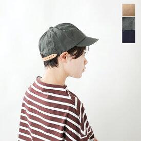 "【2021aw新作】Nine Tailor(ナインテイラー)ワックス加工ワークキャップ""Lymington cap"" n-196-waxed-yn"