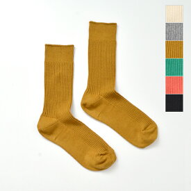 【2021aw新作】decka Quality socks(デカクォリティソックス)カシミヤコットンスペリオルリブソックス superior-rib-socks-yn