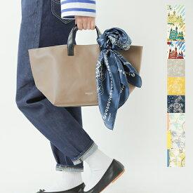 【2021ss新作】ORCIVAL(オーチバル・オーシバル)×manipuri(マニプリ)シルク&コットンプリントスカーフ rc-7325-6-7-rf
