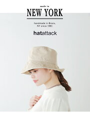 "HATattack(ハットアタック)コットンハット""WASHEDCOTTONCRUSHERHAT""9ha03"