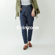 "Shinzone(シンゾーン)コットンデニムパンツ""CARROTDENIM""19smspa68"