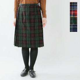 【2019aw新作】O'NEIL OF DUBLIN(オニールオブダブリン)aranciato別注 ウールプリーツ巻きスカート 5059wp-fn【サイズ交換初回無料】