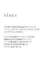NIMES(ニーム)ミラクルウェーブコットンドットブラウスnfg9103051
