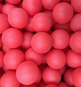 卓球 ボール カラー ピンポン 玉 40mm イベント用 シームレス 球 ロゴ無し PP材 (レッド:100個セット)