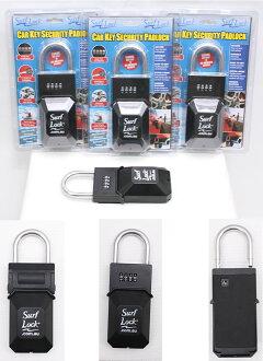 Surf Lock 파도타기 잠금 자동차 키 도난 방지 자물쇠 열쇠 관리 KEY BOX 고급 품질의 모든 금속 다이얼 자물쇠 자물쇠 키 보안 키 박스 열쇠 수납 비 진입 방지 커버 열쇠 고리-초특가