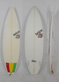 """【中古】BRICE(ブライス)武 TIGER BLOOD モデル サーフボード [CLEAR] 5'10"""" ハイパフォーマンスショートボード"""