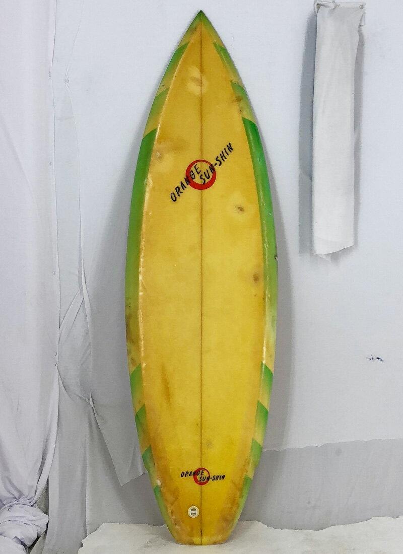 【中古】ORANGE SUN SHIN サーフボード [brush] 172cm ショートボード