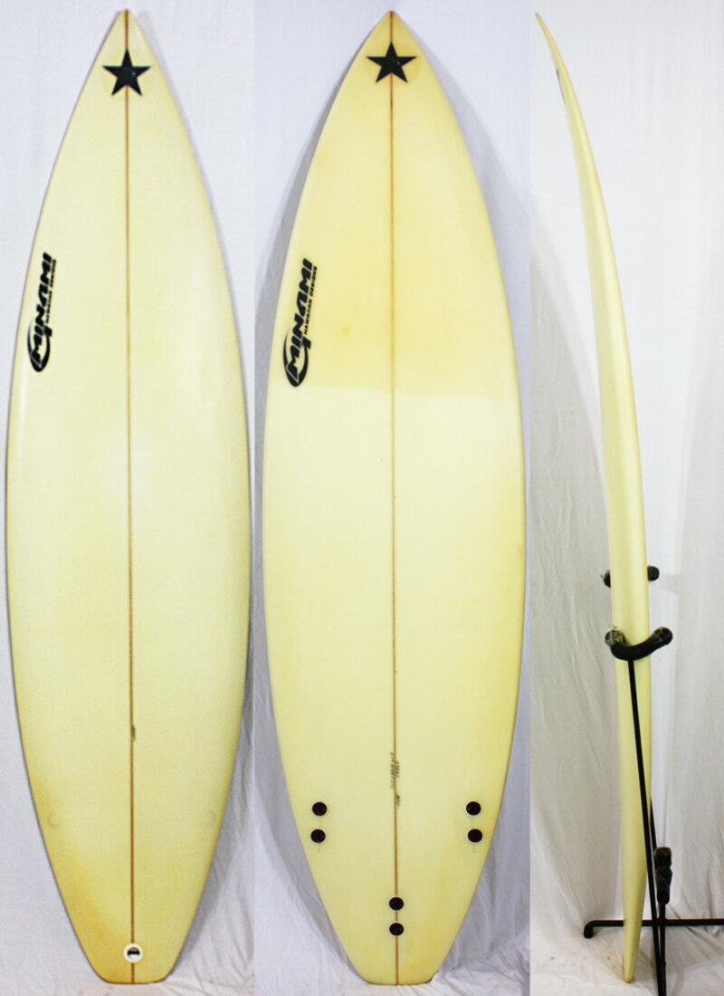 """【中古】 MINAMI (ミナミ) サーフボード [CLEAR] 6'1"""" ショートボード"""