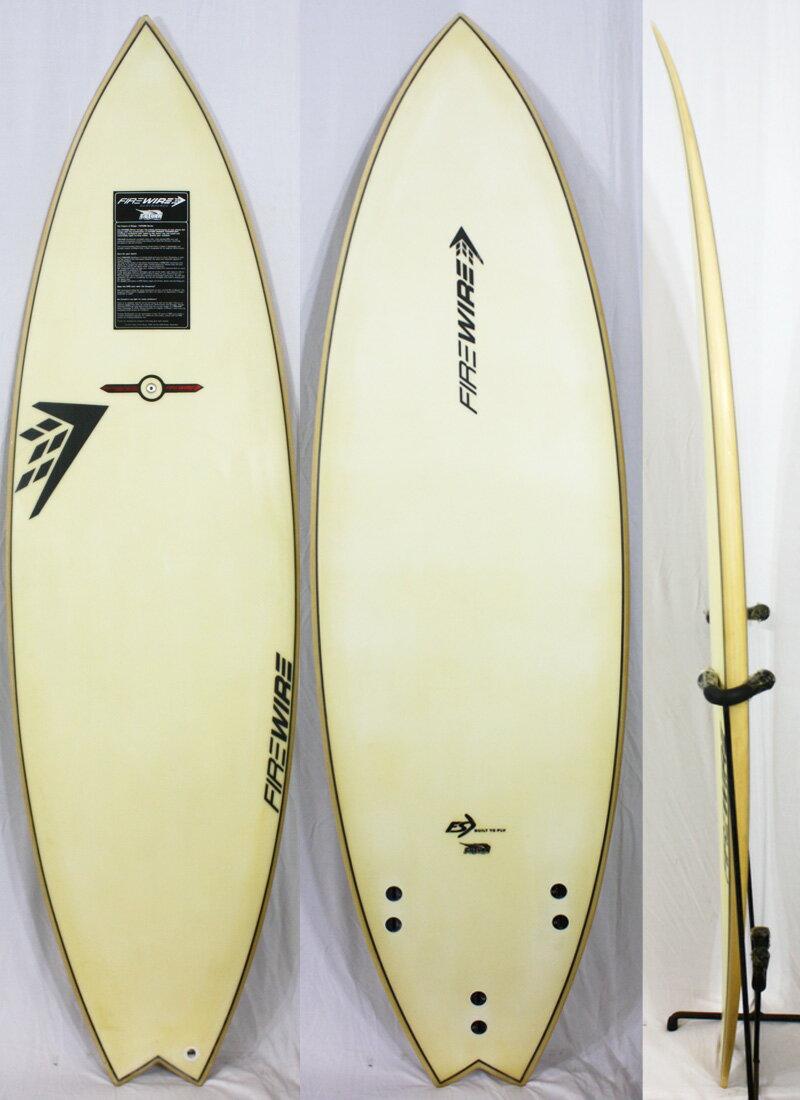 """【中古】 FIREWIRE ( ファイアーワイヤー ) Futuraモデル サーフボード [CLEAR] 5'10"""" ショートボード"""