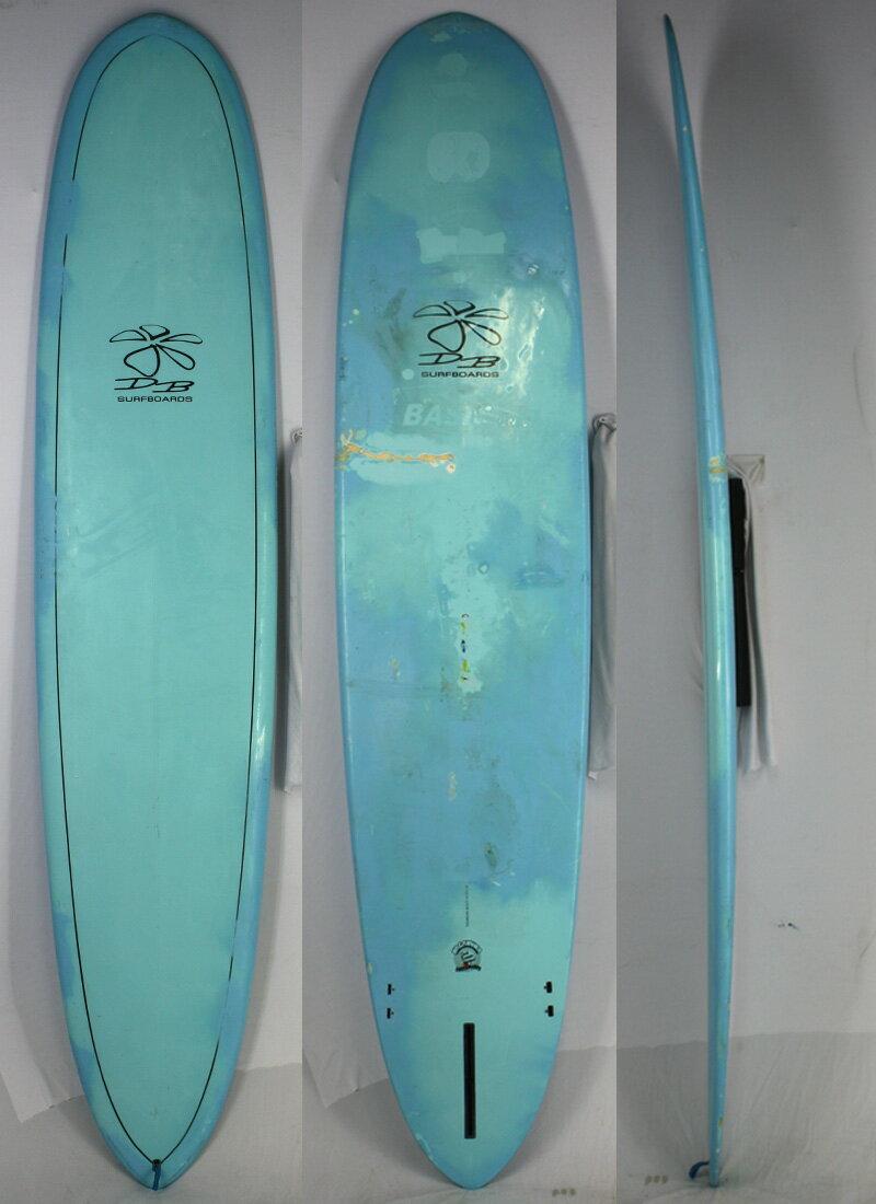 """【中古】 DICK BREWER SURFBOARD (ディックブルーワーサーフボード) Shape by NAGANUMA サーフボード [Blue] 9'0"""" ロングボード"""