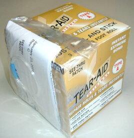 【メーカーお取り寄せ】粘着力・防水性も抜群のリペアテープが登場! TEAR-AID(ティアエイド) BOX Aタイプ