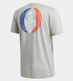 【30%OFF】ラグビーワールドカップ2019 フランス ICON T グレー アディダス FYM60 EI6288 ラグビー ティーシャツ