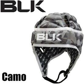 BLK エキゾテック ヘッドガード Junior Camo 小学生用 AR008-027 ラグビー ブラック ヘッドギア