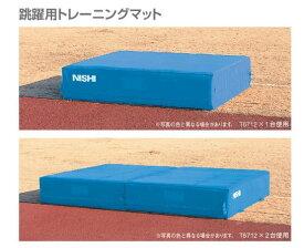 ニシ・スポーツ 走高跳用トレーニングマット L3000×H500 T6712 受注生産・直送品6  NISHI 陸上競技