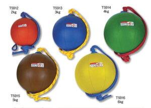 NISHI(ニシ・スポーツ)T5913 スウィングソフトメディシンボール(ゴム製) 3kg 直径25cm ブルー