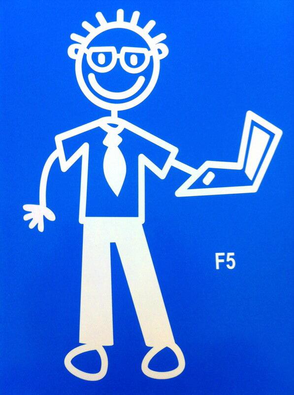 The Sticker Family 【Salary Man Dad サラリーマンお父さん】F5