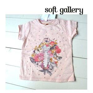 soft gallery ソフトギャラリー 子供服 ベビー ASHTON BABY/6-12M BABY 60 70 半袖 Tシャツ プリント トップス 女の子 ベビー服 赤ちゃん 出産祝い ギフト 贈り物 誕生日