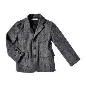 ジャケット ジェネレーター GENERATOR キッズ 3B ツイード ジャケット 110 男の子 女の子 黒 フォーマル 冬 アウター 子供服