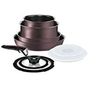 ティファール T-fal フライパン 鍋 9点セット L66692 JAN3168430276895 (IH・ガス対応)