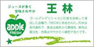 販促シール 食品シール 催事シール デコシール ギフトシール 業務用シール【青果 りんご 王林 LZ397(300枚入)】