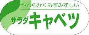 販促シール 食品シール 催事シール デコシール ギフトシール 業務用シール【青果 サラダキャベツ LZ267(500枚)】