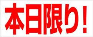 販促シール 食品シール 催事シール デコシール ギフトシール 業務用シール【食品ラベル 本日限り LQ36(500枚)】