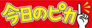 販促シール 食品シール 催事シール デコシール ギフトシール 業務用シール【食品ラベル 今日のピカイチ LQ836(500枚)】