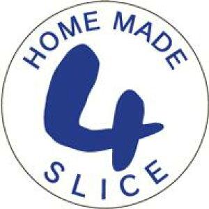 販促シール 食品シール 催事シール デコシール ギフトシール 業務用シール【食品ラベル 4枚切 LQ655(500枚)】