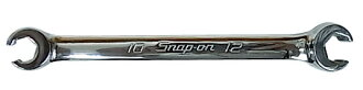 SNAP-ON snap on flare nut wrench 10 mm & 12 mm RXFMS1012B