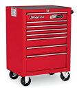 SNAP-ON (スナップオン)ベアリング付 8引出し 最も使いやすく、人気のあるロールキャビネット 工具箱(レッド)KRA4008EK