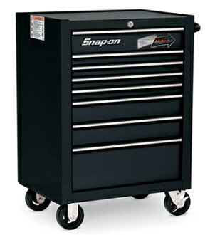 8 drawers roll cab tool box (black) KRA4008EKPC with SNAP-ON (snap on) bearing
