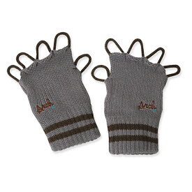 Arch(アーチ)グッズ アクセサリ line crew glove【gray/brown】バスケ ウェア