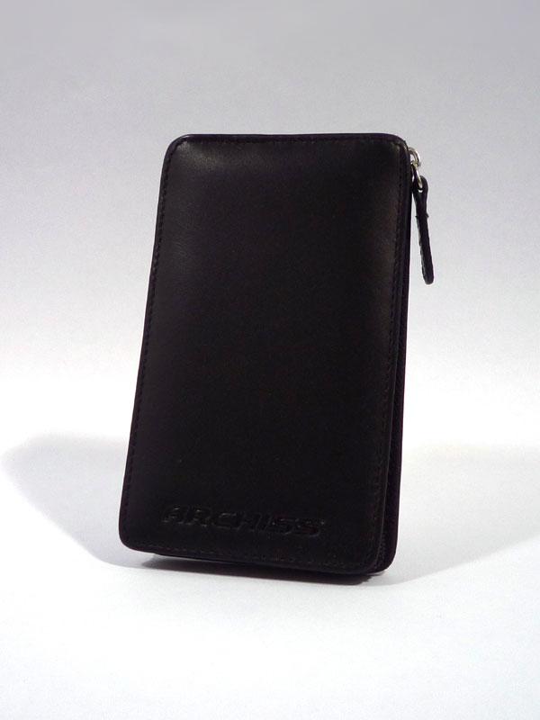 "ARCHISS アーキス オシャレな本革仕様 2.5インチ SATA HDDケース ""I-T Pocket""ブラック AC-L02(BK)"