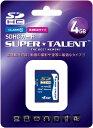 [SUPER TALENT] ハイスピード Class10 SDHCカード 4GB ST04SDC10