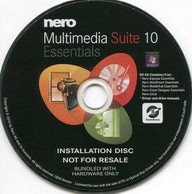 NERO 10 ESSENTIALS OEM (高機能DVDライティングソフト・Windows7対応) Nero Multimedia Suite 10 Essentials
