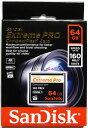 [Sandisk] 超高速1067倍速(160MB/s)を実現!サンディスク Extreme Pro CFカード 64GB(UDMA7対応) SDCFXPS-064G-X46