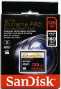 Sandisk 超高速1067倍速(160MB/s) サンディスク Extreme Pro CFカード 128GB(UDMA7対応) SDCFXPS-128G-X46