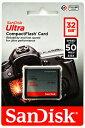 [Sandisk] サンディスク Ultra 333倍速(50MB/s) CFカード 32GB SDCFHS-032G-G46 海外パッケージ