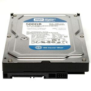 [WesternDigital]ウエスタンデジタル3.5inchHDD500GBSATA7200回転512セクターモデルWD5000AAKX
