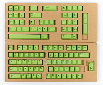 Color key top full set (yellow green) XF0100-KT11 for REALFORCE104/87 sequence exchange